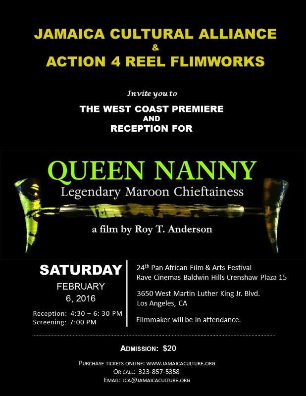 Poster for Nanny Queen Movie